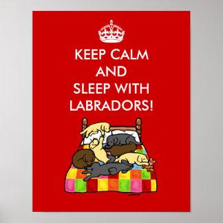 Guarde Labradors tranquilo Impresiones