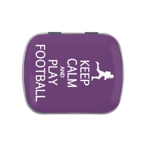 Guarde las latas y los tarros de encargo del color frascos de dulces