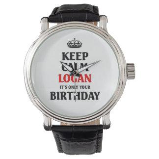 Guarde Logan tranquilo que es solamente su Reloj De Mano