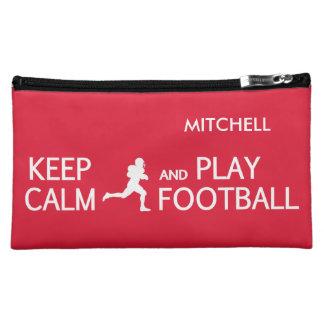 Guarde los bolsos accesorios de encargo del fútbol