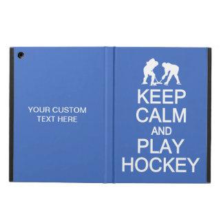 Guarde los casos de encargo del color del hockey d