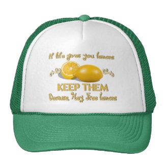 Guarde los limones gorra