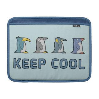 """Guarde los pingüinos frescos - aire 13"""" de Macbook Funda MacBook"""