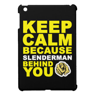 Guarde Slenderman tranquilo detrás de usted