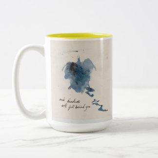 Guarde su cara siempre hacia la sol taza de café
