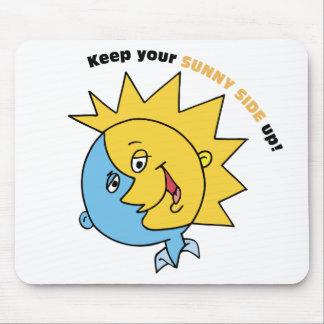 ¡Guarde su lado soleado para arriba! Tapetes De Raton