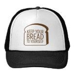 Guarde su pan a sí mismo gorros bordados