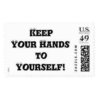 Guarde sus manos a sí mismo - matón anti envio
