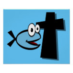 Guarde sus ojos en la cruz impresiones