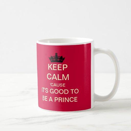 Guarde tranquilo su bueno ser un príncipe Royal Ba Tazas