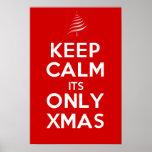 GUARDE TRANQUILO su SOLAMENTE Navidad Impresiones