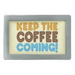 Guarde venir del café hebilla de cinturón