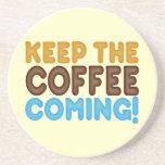 Guarde venir del café posavaso para bebida