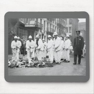 Guarded Garbage, 1911 Mouse Pad