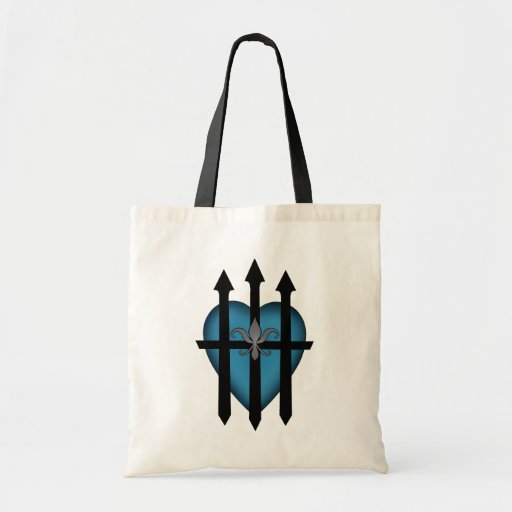 Guarded heart canvas bags