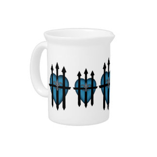 Guarded heart drink pitchers