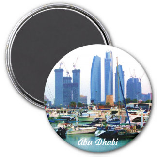 Guarded Marina 3 Inch Round Magnet
