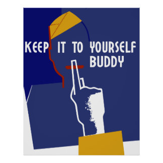 Guárdelo a sí mismo compinche póster