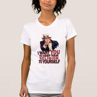 Guárdelo a sí mismo la camisa de las mujeres