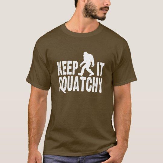 Guárdelo camiseta de Squatchy