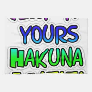 GUÁRDELO EL SUYO los regalos de Hakuna Matata