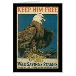 Guárdelo libremente Segunda Guerra Mundial Tarjetas