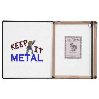 Guárdelo metal