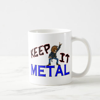 Guárdelo metal taza