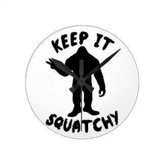 Guárdelo Squatchy Relojes