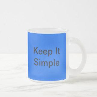 Guárdelo taza simple