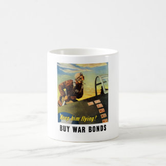 ¡Guárdelo vuelo! Compre enlaces de guerra Taza De Café