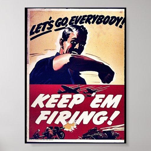 ¡Guárdelos leña! Poster