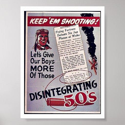 Guárdelos tiroteo impresiones