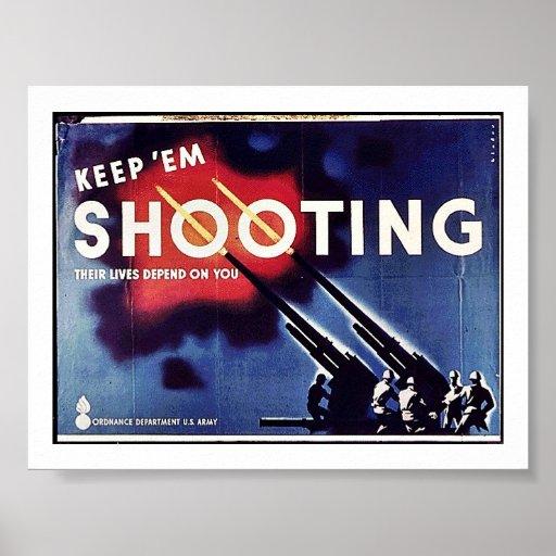Guárdelos tiroteo poster