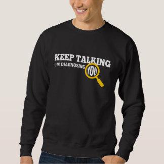 Guárdeme el hablar le están diagnosticando jersey