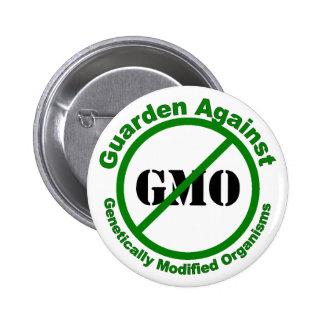 Guarden contra GMO Pin Redondo De 2 Pulgadas