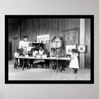 Guardería afroamericana en Hampton, VA 1899 Impresiones