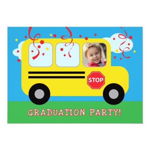 Guardería o foto Invitat de la graduación del Anuncio Personalizado