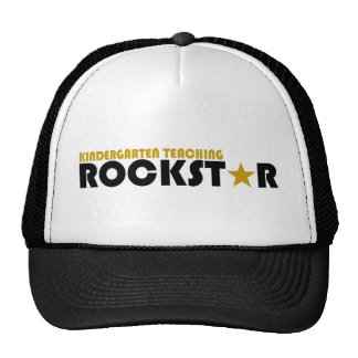 Guardería que enseña a Rockstar Gorras De Camionero