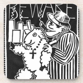Guárdese de capitalistas en la ropa de la oveja posavasos