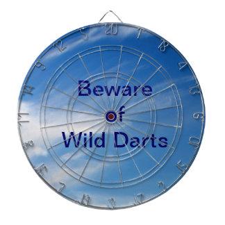 Guárdese de Dartboard salvaje de los dardos Tabla Dardos