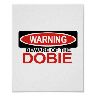 Guárdese de Dobie Poster
