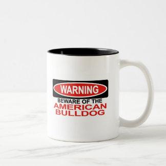Guárdese de dogo americano taza de café