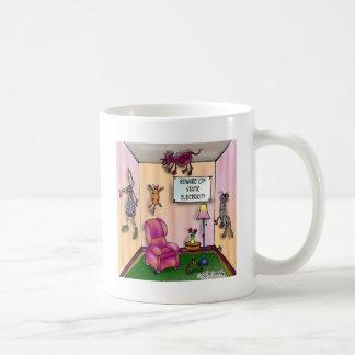 Guárdese de electricidad estática taza de café