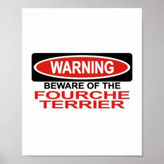 Guárdese de Fourche Terrier Impresiones