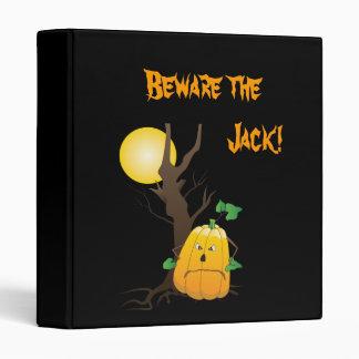 """¡Guárdese de Jack! - Jack o'lantern con un árbol Carpeta 1"""""""