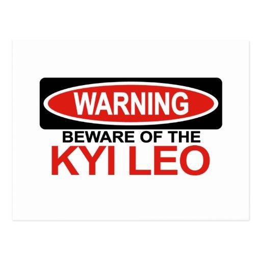 Guárdese de Kyi Leo Postal