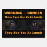 Guárdese de la ADVERTENCIA del perro