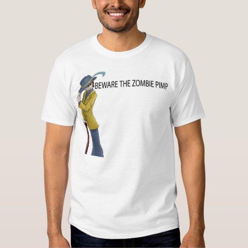 Guárdese de la camisa del chulo del zombi