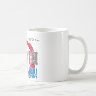 ¡Guárdese de la cólera del cordero! Taza De Café